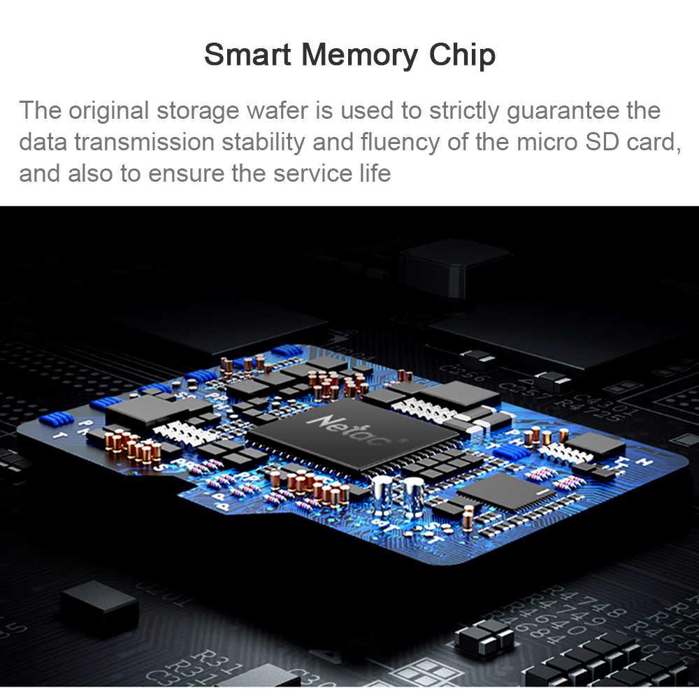 Carte Micro SD Netac 32 GB 64 GB 128 GB 256 GB UHS-1 carte mémoire 16 GB 32 64 128 256 GB 4 K vidéo U3 V30 Flash carte SDCard classe 10 TF