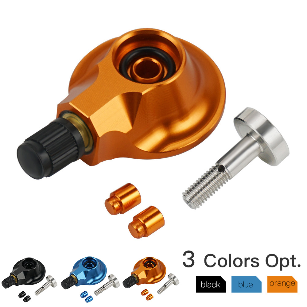 WP Rear Suspension Gas Valve      58 mm and      64 mm for KTM 85 125 SXF EXC XC XC-F XCW XCF-W XCW Husqvarna Nitrogen Gas Filling
