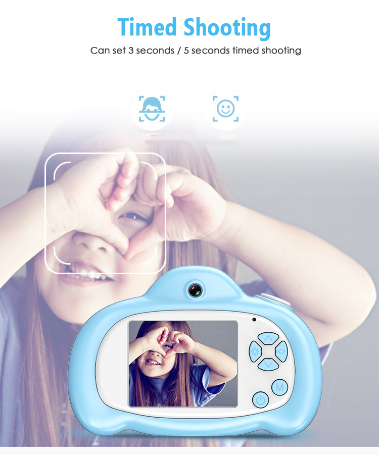 Baby Camera Birthday-Gift Mini Kids Children for 1080P Projection Educational-Toys