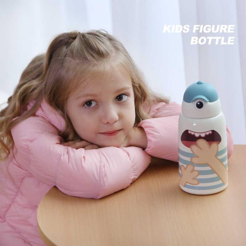 Bambini Tazza di Tazze Sippy studenti E Studentesse 316 per bambini In Acciaio Inox Tazze di Acqua Del Bambino Del Bambino di Acqua Potabile bottiglia