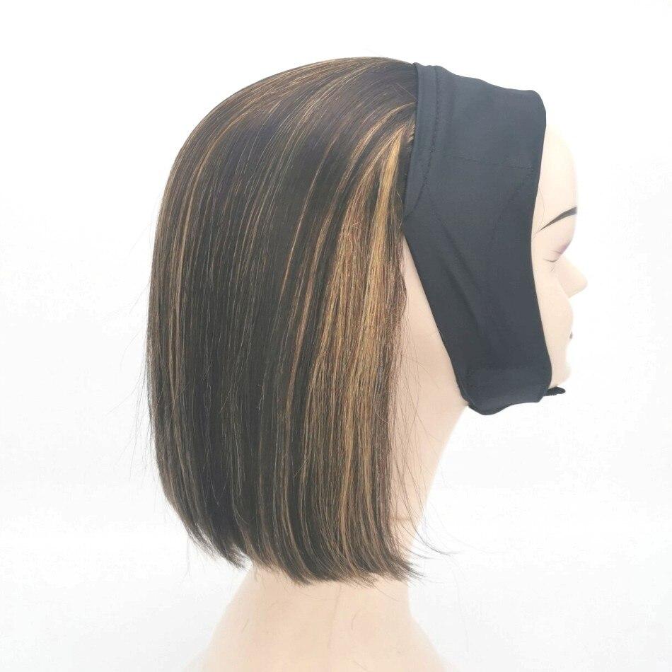 12-14 Inches Wholesale VariShow Ice Headband Hair Wigs Brazilian Virgin Remy Human Machine Weft For Beauty
