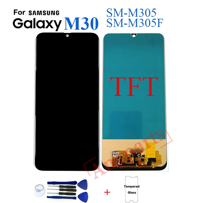 TFT For Samsung M30 M305 SM-M305F Display Lcd Screen Replacement For Samsung M30 M305F SM-M305F Display Lcd Screen Module