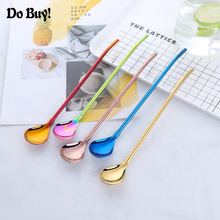 Drinking Straws Cocktail-Stirring Reusable Kitchen-Bar-Tools Stainless-Steel 1pcs