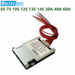Wholesale 6S 7S 10S 13S 12S 14S 30A 40A 60A BMS Balance Board for 18650 36V 24V 48V Electric bicycle electric tools within 1200W