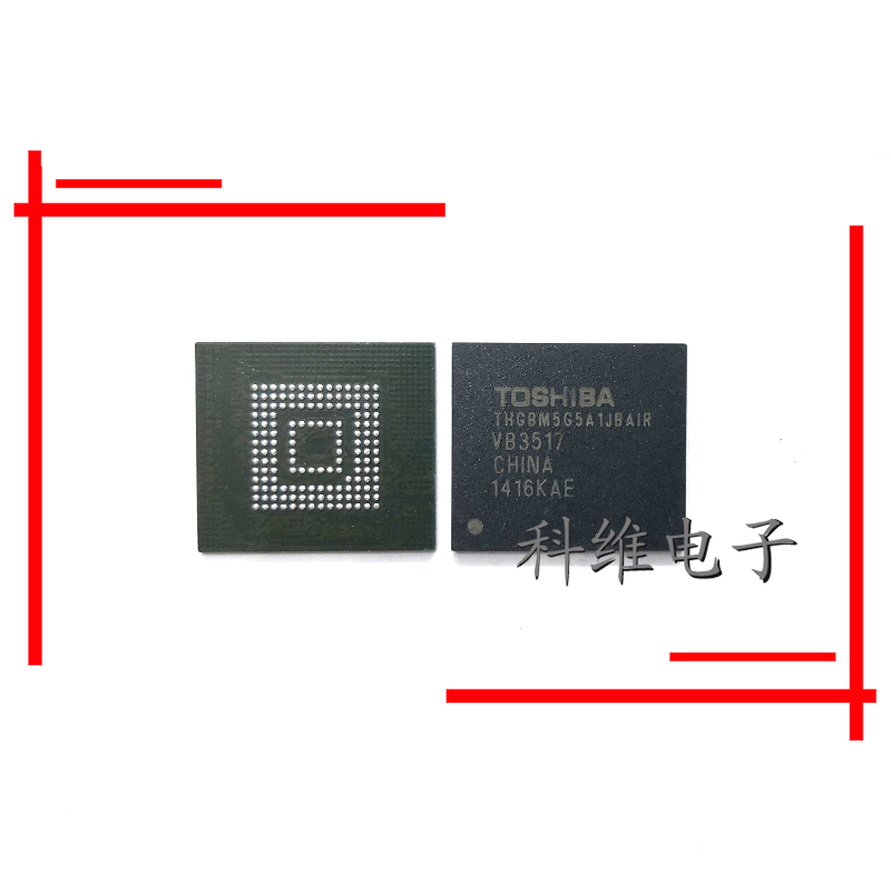 1pcs/lot THGBM5G5A1JBAIR THGBMAG5A1JBAIR 4G153BGA Emmc LCD Hard IC