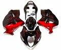 ¡Novedad! Carenados de ABS HAYABUSA GSX1300R 1997-2007, carenado para carrocería en negro y rojo, gsxr 1300r 97 98 99 00 01 02 03 05 06 07