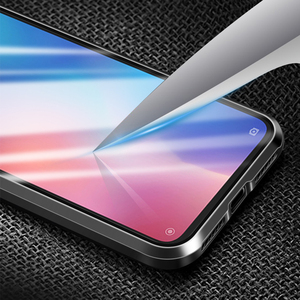 Image 5 - Роскошный магнитный металлический чехол для Xiaomi Mi Cc9 Cc9e 9t Cc 9 Se 8 Redmi K20 Note 8 7 Pro 128 ГБ Global двойное стекло 360 Полное покрытие