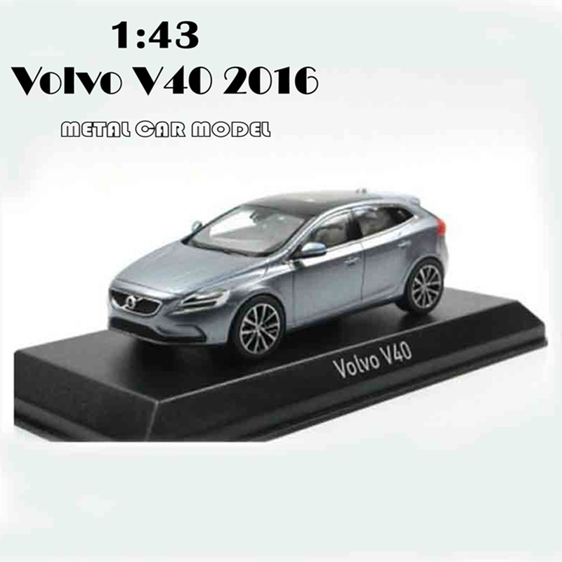 1:43 Alloy Volvo V40 2016 Model Car Model Toy Diecast Model CAR SUV Toy Car Toys For Boys Children Girl New Year's Gifts