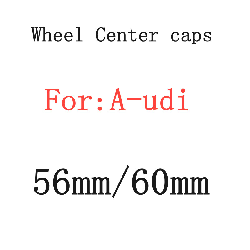 4 шт., колпачки-эмблемы для автомобиля, 56 мм, 60 мм