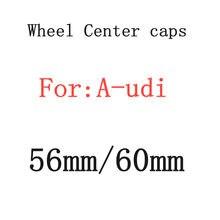 4 pçs 56mm 60mm carro emblema roda centro hub tampas emblema cobre estilo do carro acessórios de automóveis