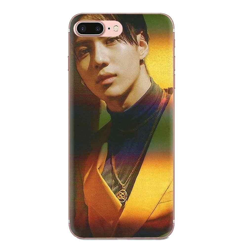TPU mềm DẺO Hoa Văn Kpop Shinee Tae Mi N Cho Xiao Mi Đỏ Mi Mi 4 7A 9T K20 CC9 CC9e Note 7 9 Y3 SE Pro Thủ Đi Chơi