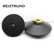 """Reiztruno 3 """"/4"""" выпуклые резиновые задние держатели"""