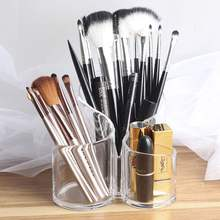Clear Acrylic Transparent Cosmetic Makeup Brush Holder Stand Organizer Lip Stand
