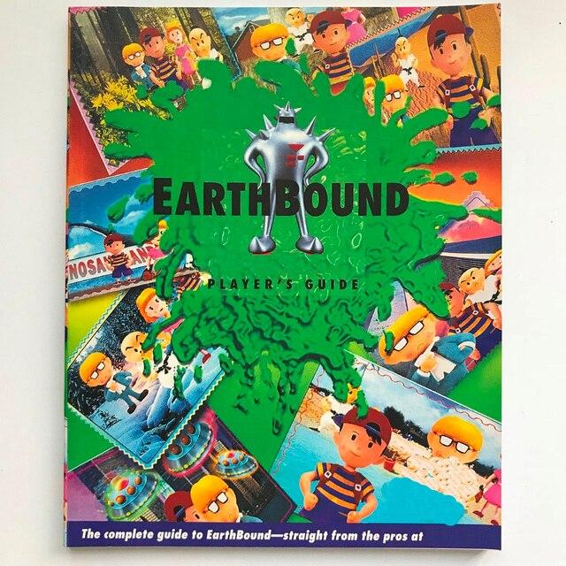 Guia do jogador para o tamanho a4 da língua inglesa earthbound