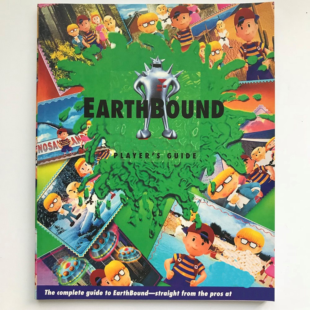 Player Guide For Earthbound English Language A4 Size