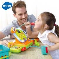 Caisse enregistreuse avec Scanner/Microphone/calculatrice-Pots et casseroles de jeu/Restaurant de jeu/épicerie/jouet de caisse de supermarché