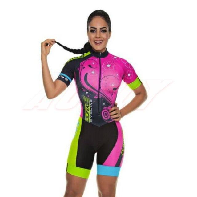 Aofly macacão feminino de manga curta, roupa de ciclismo go pro mtb, macacão 9d com almofada em gel, 2020 verão 1