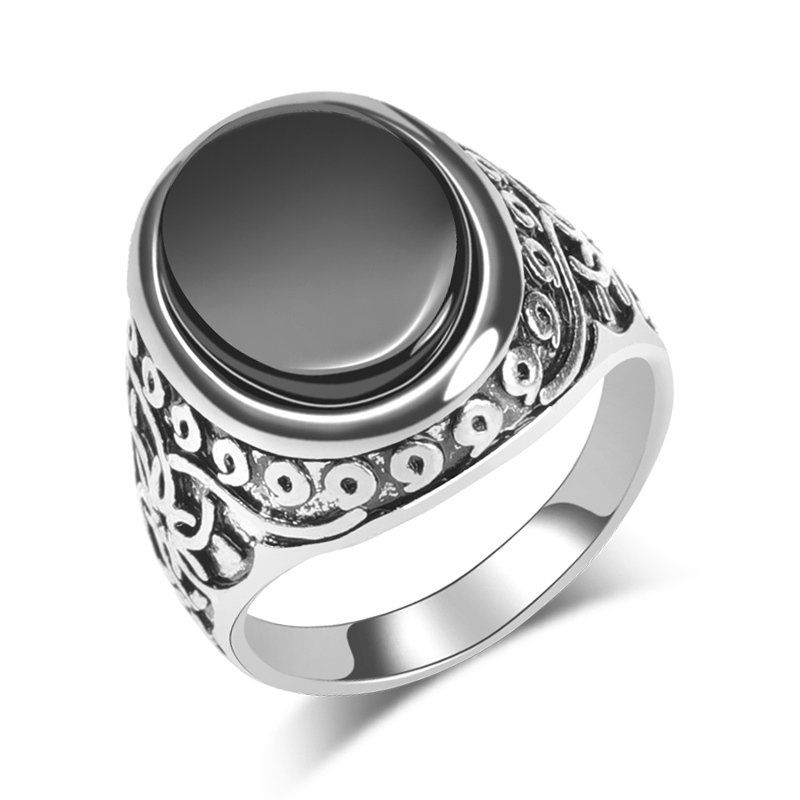 Wbmda-Vintage-Black-Stone-Ring-For-Women-Man-Fashion-Antique-Silver-Big-Ring-Jewelry-Valentine-s