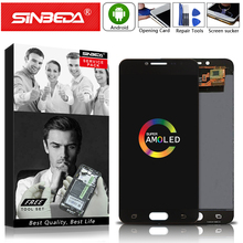 """Get more info on the AMOLED 5.2"""" For SAMSUNG Galaxy C5 Pro C5010 Display LCD Digitizer Touch Screen For Samsung C5010 LCD SM-C5010 For Samsung C5 Pro"""