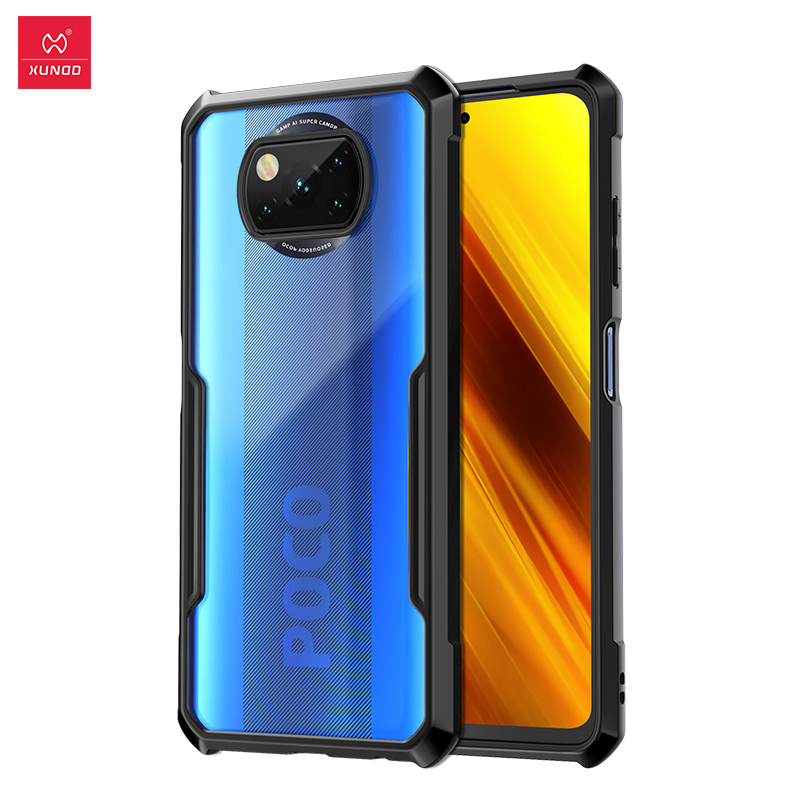 For POCO X3 Case, Xundd, Phone Case, poco x3 case Shockproof Cover, Transparent Shell, For Xiaomi Poco X3 NFC Case Phone Case & Covers  - AliExpress