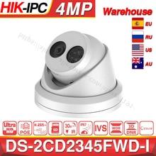 HIKVISION H.265 מצלמה DS 2CD2345FWD I 4MP IR קבוע צריח רשת מצלמה מיני כיפת IP מצלמה SD כרטיס חריץ פנים זיהוי