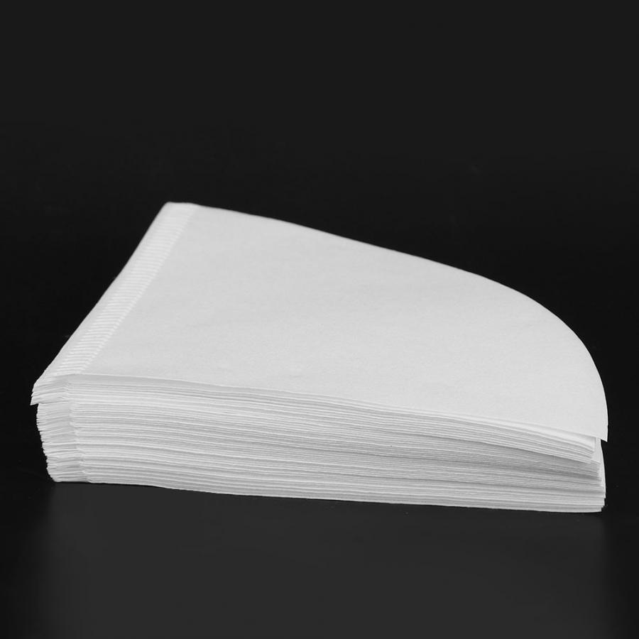 Cone-Shape Drip Coffee Filter Papers (50pcs) BrewGear Filter Tools