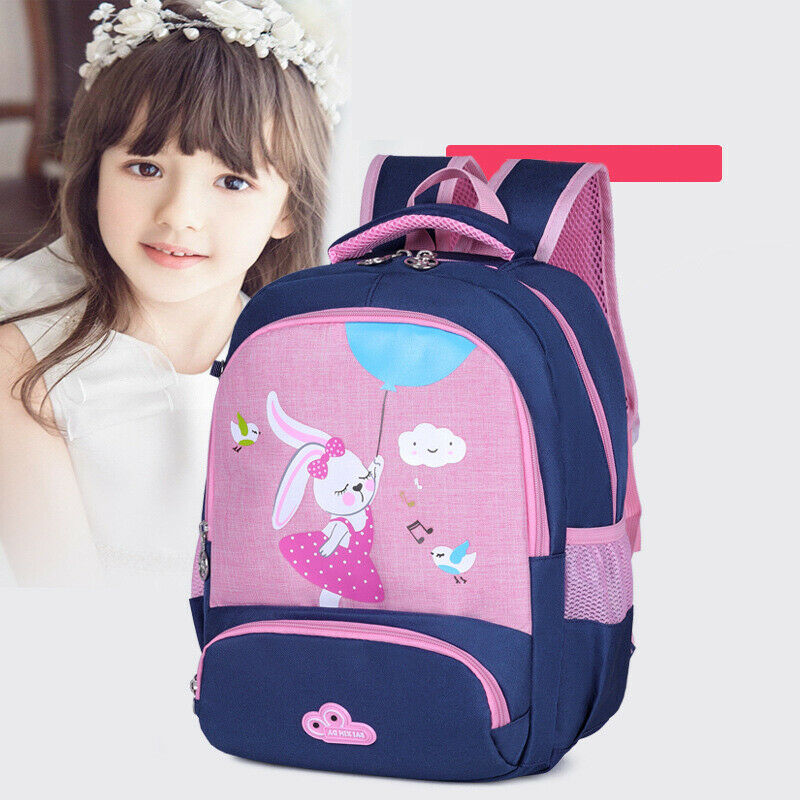 2019 New Toddler Baby Boys Girls School Bag Cute Cartoon Animal Rabbit Waterproof Backpack Casual Portable Children's School Bag