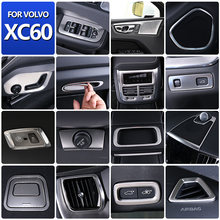 Car styling for volvo xc60 car interior decoration stickers car accessories body bright strip accessories ABS/stainless steel