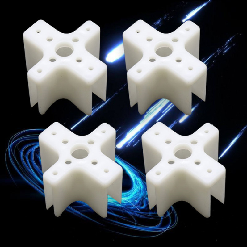 4pcs/lot Plastic Motor Mount Cross Motor Base For SunnySky XXD Motor KT Board / SU27 RC Airplane Models Part