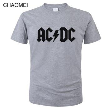 2019 Camisetas AC DC Heavy metal rock band T Shirt Men acdc T-Shirts Print Casual Tshirt Hip Hop Short Sleeve cotton Top C106 1