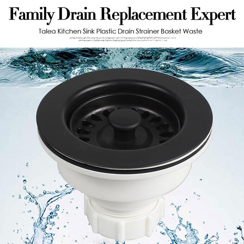 Permalink to Sink Waste Kit Bathroom Plug Trap Water Drain Filter Kitchen Sink Accessories Deodorizing Kitchen Sink Basket Drain Set