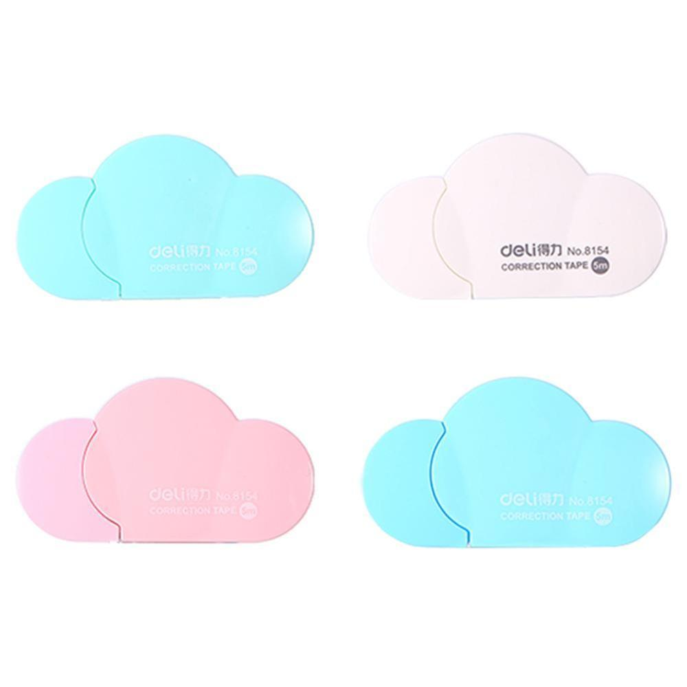 1PC Popular Mini Small Clouds Shaped Correction Tape Altered Tools School Office Corrector Stationery Kids Gift 4 Colors