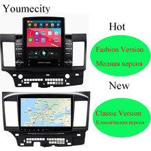 Youmecity Android 9.0 Car DVD Multimedia Player per MITSUBISHI LANCER 2007-2018 9x10.1 pollici 2DIN 3G/4G GPS radio video player(China)