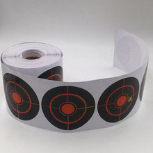 Splatter Targets Reactive-Stickers Archery-Bow Shooting for 250pcs/Roll