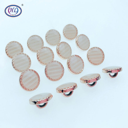 HL 50/150pcs 11mm New Dripping Oil Shank Plating Buttons  DIY Apparel Sewing Accessories Shirt Buttons