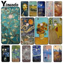 Yinuoda Van Gogh starry night painting Phone Case for Huawei Y5 II Y6II Y5 Y6 Y7Prime Y9 2018 2019(China)