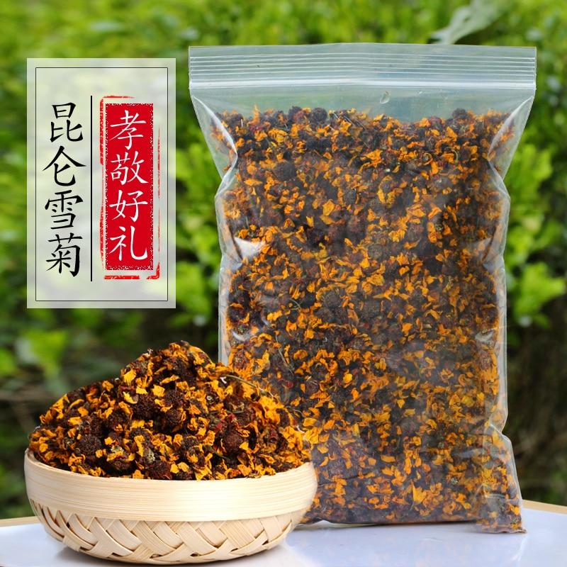 2020, ароматизированный китайский чай, кунлунь, снежные хризантемы, травяной чай с маргаритками, высушенный цветочный Цветущий чай для красот...