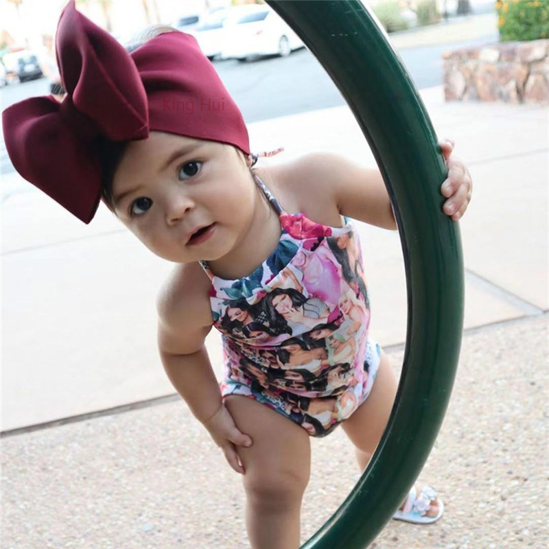 Baby Headband Turban Bandeau Bebe Fille Baby Girl Headbands Knotted Baby Hair Accessory Hair Ribbons For Baby Bows Diademas Bebe