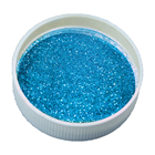 Blue Color Glitter P...