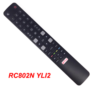 Image 1 - الجديد الأصلي RC802N YLI2 ل RCA TCL هيتاشي التلفزيون الذكية التحكم عن بعد 06 IRPT45 BRC802N
