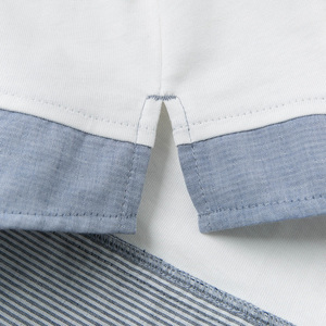 Image 5 - DBJ13529 1 דייב bella תינוק ילד הדפסת חולצה פעוט כותנה חולצות ילדי אביב טיז בסוודרים ארוך שרוול בגדים