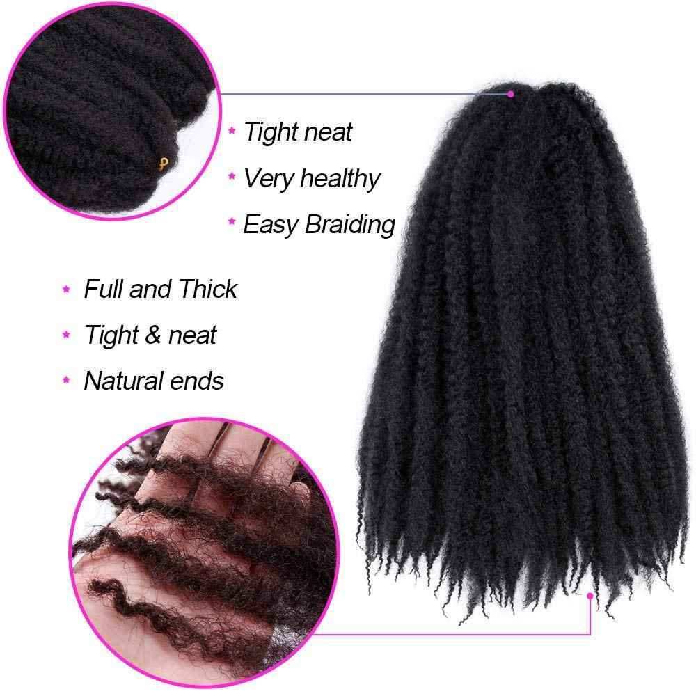 Ombre Marley warkocze włosy włosy syntetyczne do warkoczy hawana Mambo Twist szydełkowe włosy warkocze Senegalese Twist szydełkowe przedłużanie włosów