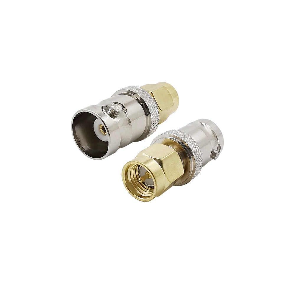 1 sztuk SMA do BNC TNC F typ złącze adaptera RF wtyczka Jack WiFi antena RF konwerter dla SDR Radio CCTV Ham kamera UV elektronika