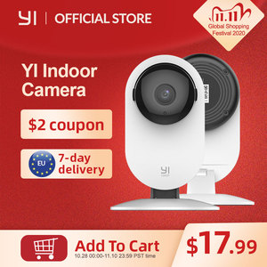 Image 1 - YI 1080p Home Camera Indoor IP Security Surveillance System with Night Vision for Home/Office/Baby/Nanny/Pet Monitor YI Cloud