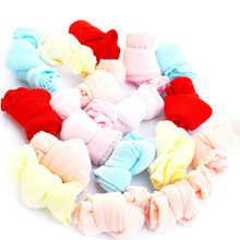 1 Pair/Lot Girls Socks for Children Kids Mesh Style Baby Girl Socks with Elastic Candy Colors Summer 0-3-9 years old(China)