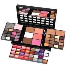 74 Color Beginner Makeup Set Box Makeup Kits For Wo