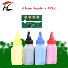 Pó de recarga + chip CLT-K406S CLT-406 clt 406, para samsung CLP-360 CLP-362 CLP-364 CLP-365 SL-C410W SL-C460W CLX-3300