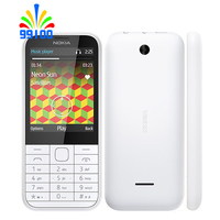Refurbished Unlocked Cell Phone Nokia 225 Dual Sim 2.0MP Camera English/Hebrew/Arabic/Russian Keypad 1