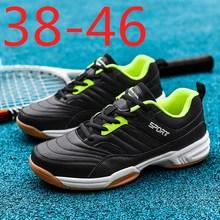 Professional Badminton Shoes For Men Anti-Slippery Training Sneakers Male Tennis Big Size Men Sneakers Badminton Sport Shoes