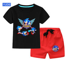 Новое поступление летняя одежда для маленьких детская одежда;